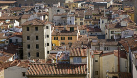 Florence roofs Stock Photography