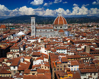 Florence Rooftop View stock foto