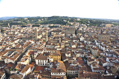 Florence. A rooftop view of Florence, Italy Royalty Free Stock Photo