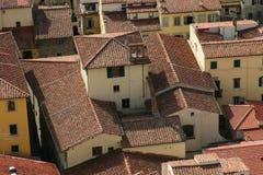 florence rooftops royaltyfri bild