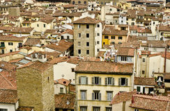 Florence Rooftops Royalty Free Stock Photos