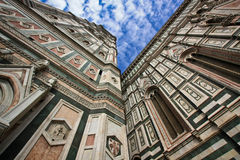 Florence's cathedral on the sky background Royalty Free Stock Photography