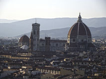 Florence's Duomo. Duomo church in Florence, Italy stock image