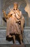 Florence - Saint Joho the Baptist Royalty Free Stock Photo