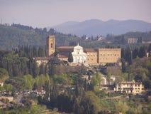 Florence, San Miniato al Monte Stock Image