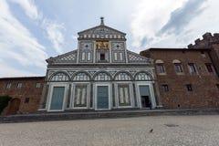 Florence, san miniato church Stock Images
