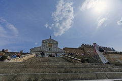 Florence, san miniato church Royalty Free Stock Photography