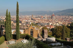 Florence from San Miniato del Monte Stock Photography