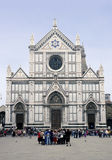 Florence Santa Croce Stock Images