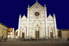 Florence, Santa Croce Basilica Stock Photography