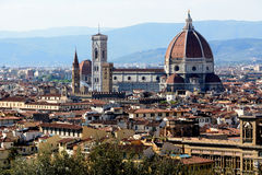 Florence. Santa Maria del Fiore cathedral in Florence royalty free stock photography