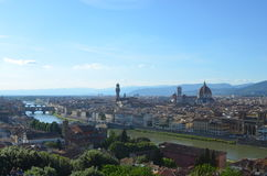 Florence and Santa Maria del Fiore stock photography