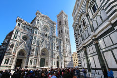 Florence, santa maria in fiore cathedral Stock Photos