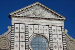 Florence, Santa Maria Novella. Santa Maria Novella. Facade basilic. Florence, Italy Stock Photo