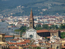 Florence -The  Santa Maria Novella Royalty Free Stock Images