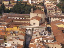 Florence - Santissima Annunziata church Stock Photos