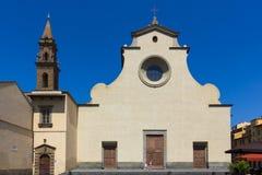 Florence, Santo Spirito church Stock Image