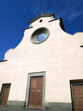 Florence -  the Santo Spirito facade Stock Photo