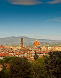 Florence scénique, Italie images libres de droits