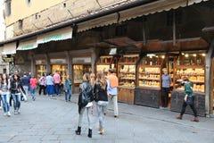 Florence shops Stock Photo