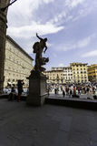Florence,SIGNORIA PlaCE WITH DAVID Stock Image