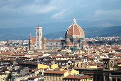 Florence skyline Royalty Free Stock Images