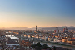 Florence skyline Stock Photo