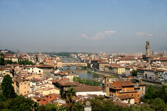 Florence skyline #3. Aerial view of Florence city, Italy Royalty Free Stock Photography