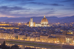 Florence Skyline Stockfotografie