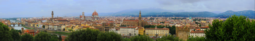 Florence Skyline Royalty Free Stock Photography