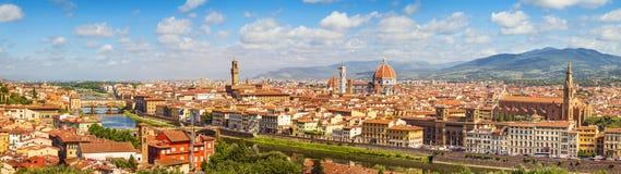 Florence Skyline (Italië, Toscanië) royalty-vrije stock fotografie