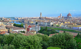 Florence Skyline - Italy Royalty Free Stock Image