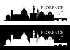 Florence skyline - Italy -  illustration Royalty Free Stock Photos
