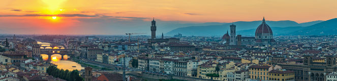Florence skyline, Italy Royalty Free Stock Photography