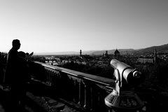 Florence skyline from piazzale Michelangelo Royalty Free Stock Images