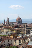 Florence skyline, Tuscany, Italy Royalty Free Stock Photos