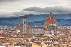 Florence in spring Stock Images