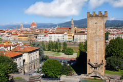Florence in spring time, Tuscany, Italy Stock Image