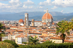 Florence in spring time, Tuscany, Italy Royalty Free Stock Photos