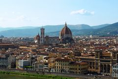 Florence stad Royalty-vrije Stock Afbeeldingen