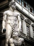 Florence statue. A view of a statue,Florence,Italy Royalty Free Stock Photo