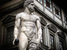 Florence statue. A view of a  statue,Florence,Italy Royalty Free Stock Photography