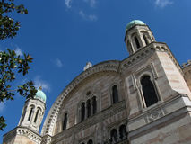 florence stor synagoga Royaltyfri Fotografi