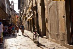 Florence Street scene Stock Image