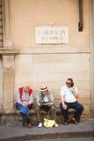 Florence Street Scene Stock Images
