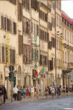 Florence street scene Royalty Free Stock Photography