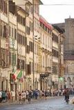 Florence street scene Stock Photos