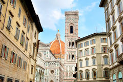 Florence street Stock Photography
