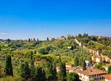 Florence suburbs Royalty Free Stock Photo
