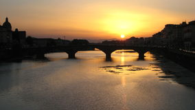 Florence Sunset 1 Royalty Free Stock Image